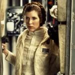 Princess Leia kissing Chewbacca, 1977-1983